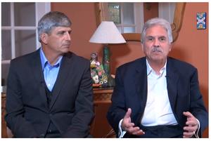 Dr Mark Howard and Joe Gonzales